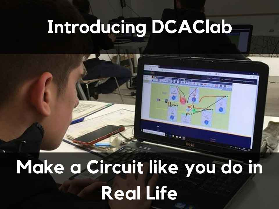 Online Circuit Simulator   Real like interface by DCACLab
