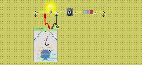 Using multimeter in dcaclab